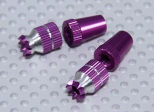 合金防滑TX控制棒短(双叶紫TX)