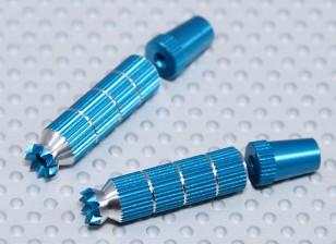 合金防滑TX控制棒长(双叶TX蓝)