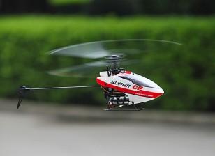 科尔超级CP无副翼微型3D直升机W /泥盆7E  - 模式2(RTF)