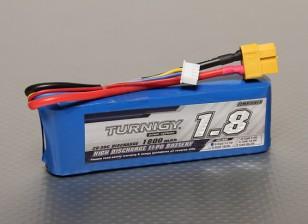 Turnigy 1800mAh的3S 20C前列包