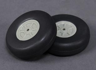 轻量级规模轮60毫米(2PC)
