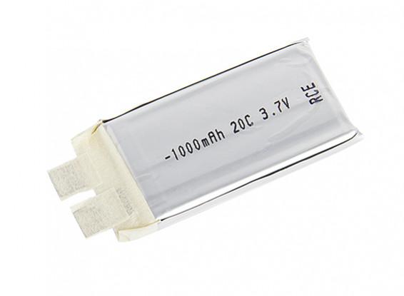Turnigy 1000mAh 1S 20C Lipoly (Cell Single)