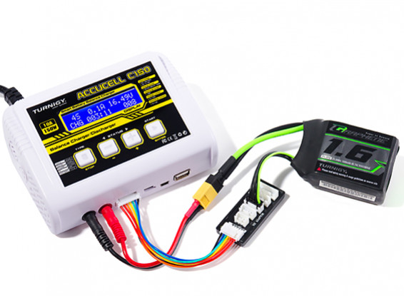 Turnigy Accucell C150 AC/DC 10A 150W Touch Button Smart Balance Charger 1`