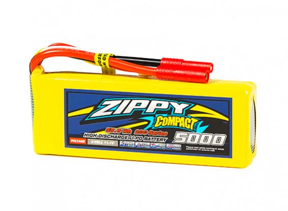 ZIPPY Compact 5000mAh 3S1P 20C Lipo Pack