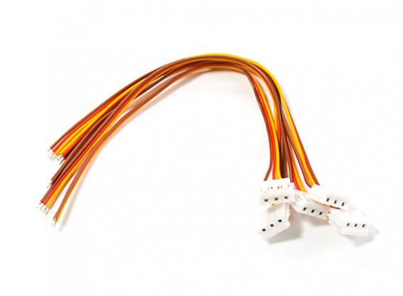 Ar6300 Mini JST Plug and Servo Lead (5pc)