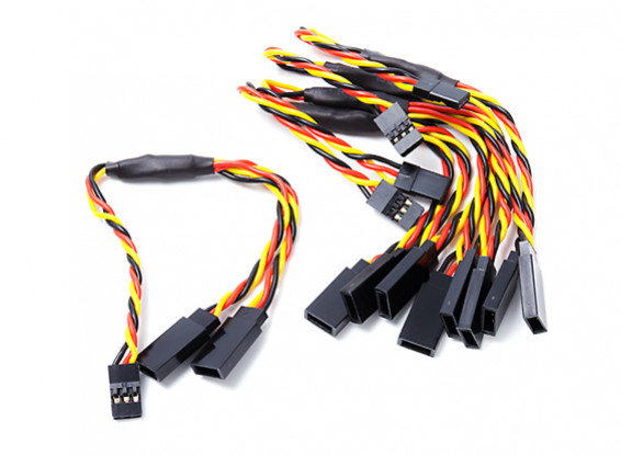 15cm Twisted Leads Y Servo (JR) 24AWG (5pc)