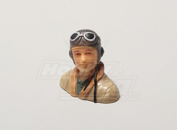 WW2 / ère classique Parkfly Pilot (H39 x W43 x D24mm)