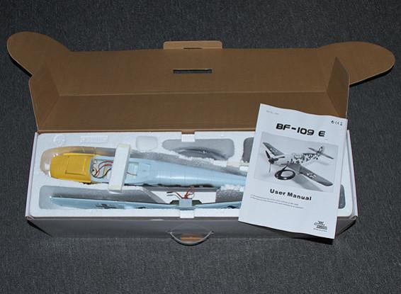 SCRATCH DENT Messerschmitt BF109E 650mm w-Stand (PNF)