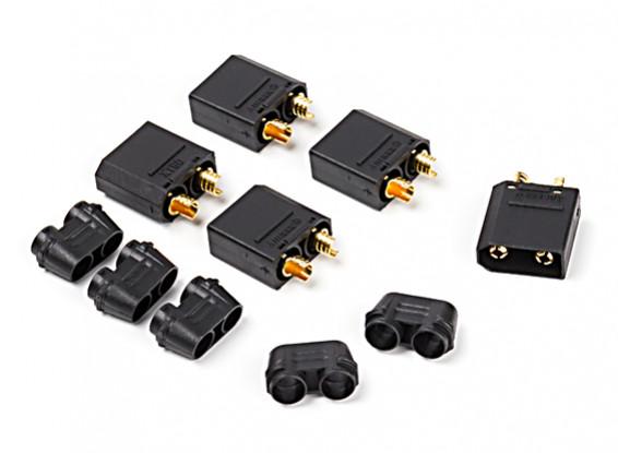 Nylon XT90 Connecteurs Homme (5 pcs / sac) Noir
