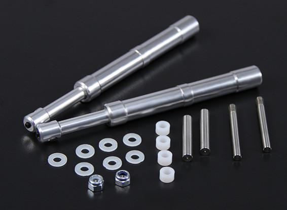 Alloy Oleo Strut 140mm Mains droites pour 60 ~ 90 Classe 2pc