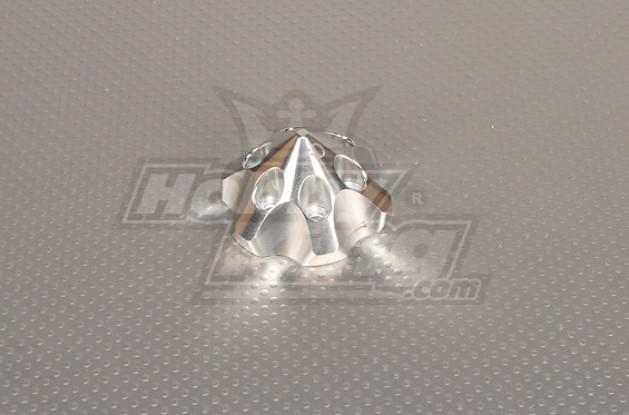 CNC 3D spinner Argent Medium