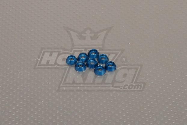 CNC Cap Boulon Rondelle M3 (3,5 mm) Dark Blue