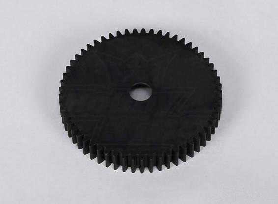 Spur plastique Engrenage 57 dents (1pc / sac) - 260 et 260S