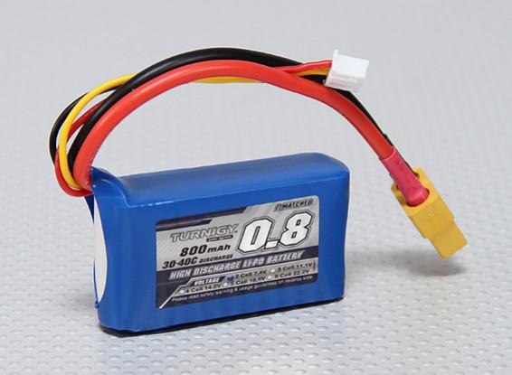 Turnigy 800mAh 2S 30C Lipo Paquet