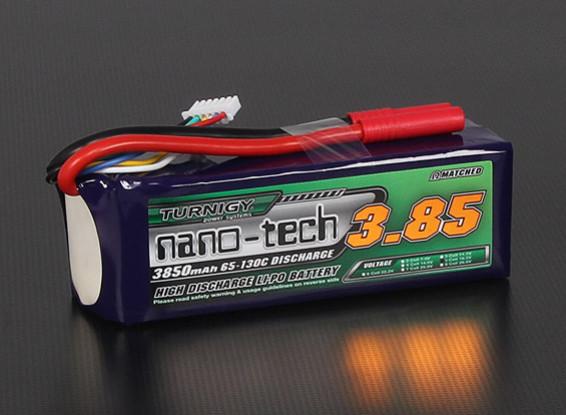 Turnigy nano-tech 3850mah 5S 65 ~ 130C Lipo Paquet