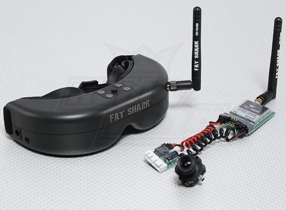 Fat Shark Predator RTF FPV système Headset w / Appareil photo et 5.8G TX
