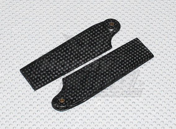 Lames de 92mm Carbon Fiber Tail (de 600size) (1 paire)