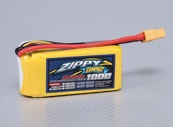 ZIPPY Compact 1000mAh 3S 35C Lipo Paquet