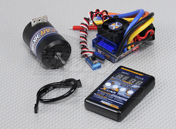Système HobbyKing X-Car Brushless Puissance 6100KV / 100A