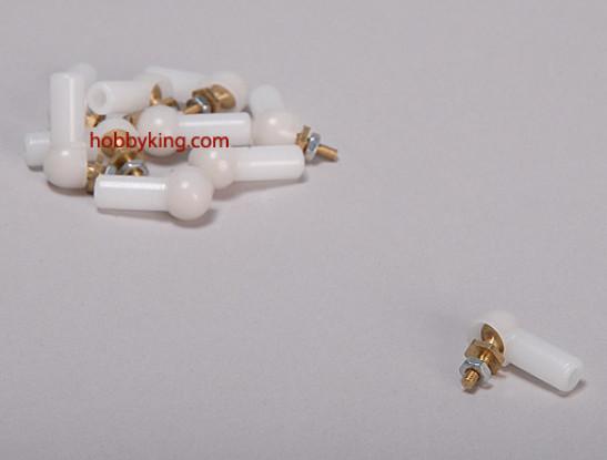 Ball et lien de rouleau 4.8x3x17mm (10pcs / bag)
