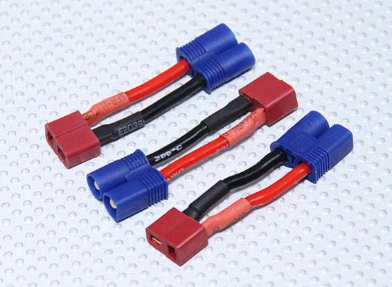 EC3 Adaptateur Batterie T-Connector (3pcs / sac)