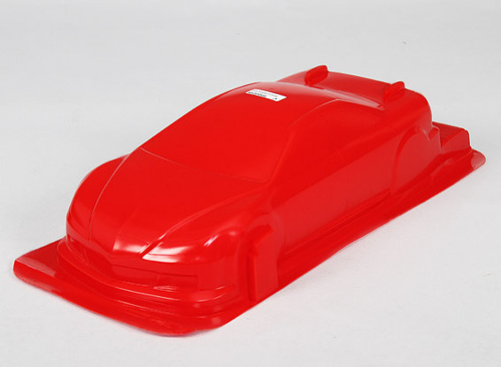 1/10 CR-6R Shell Body w / Stickers (Rouge)