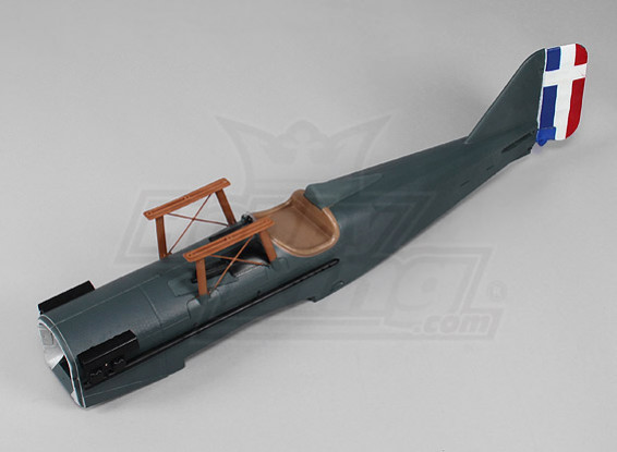 Durafly ™ SE5a - Remplacement Fuselage