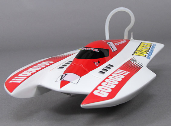 Vortex Hydro Racing Boat (475mm) Plug and Drive - Rouge