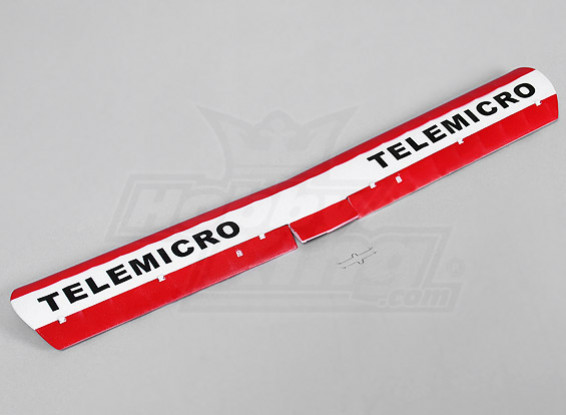 Telemicro 520mm - Remplacement aile principale