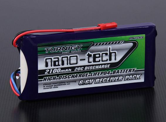 Turnigy nano-tech 2100mAh 2S1P 20 ~ 40C LiFePo4 Receiver Paquet