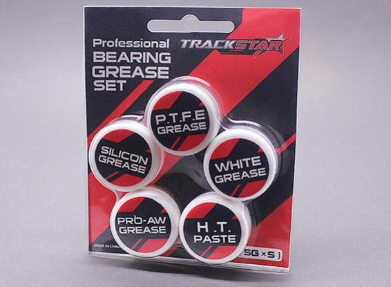 TrackStar Professional Graisse Roulement Set [5g x 5]