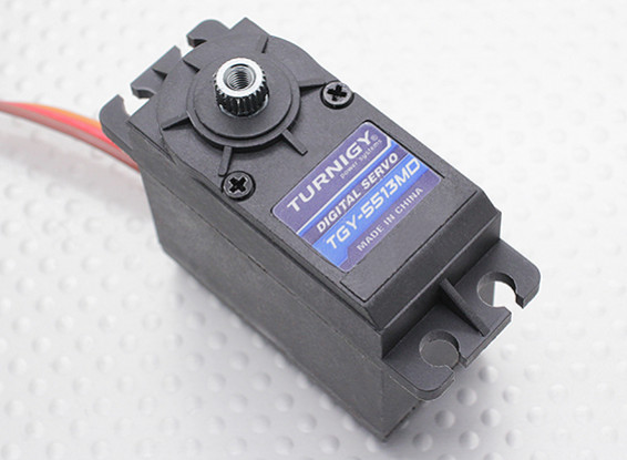 Turnigy ™ GTY-5513MD DS / MG Servo 12 kg / 0.18sec / 54,5 g