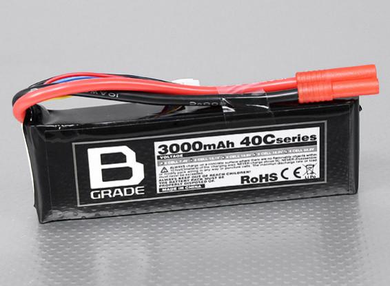 Batterie B-Grade 3000mAh 3S 40C Lipoly