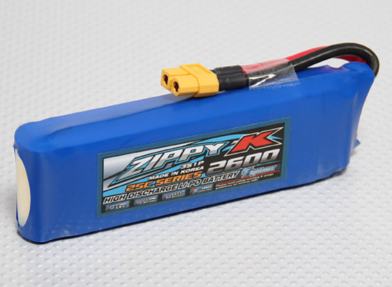 Batterie Zippy-K FlightMax 2600mAh 3S1P 25C Lipoly