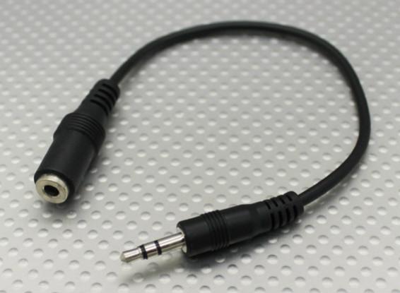 Branchez Graupner Transmetteur Adaptateur 3.5mm à 3.5mm stéréo pour Flight Simulator