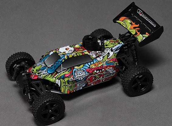 Quanum Toxique Nitro 1 / 10ème 4wd Racing Buggy (ARR)