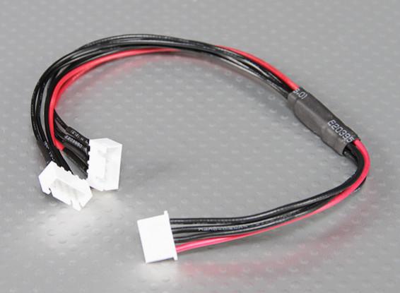 JST-XH Parallel balance Lead 3S 250mm (2xJST-XH)