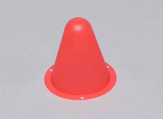 Cônes de course en plastique pour R / C voiture piste ou Drift Course - Red (10pcs / bag)