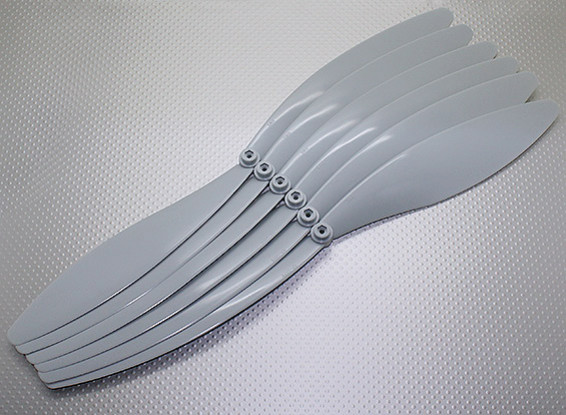 Hélice GWS (EP1575 / 381x191mm) gris (6pcs / paquet)