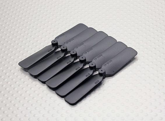 GWS EP hélice (DD-2508 65x20mm) noir (6pcs / set)