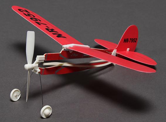 Rubber Band Propulsé Freeflight L. Vega Airplane 291mm Span