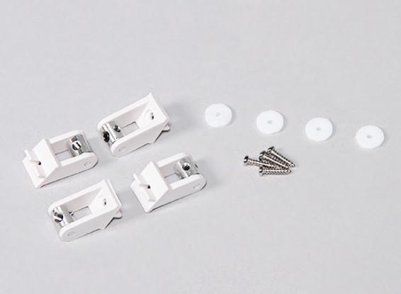 Durafly ™ Zephyr 1533mm - Remplacement de contrôle Horn / Pushrod Keeper