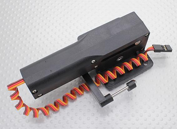 Servoless orientables Nez Dégager avec Métal Trunion pour les grands modèles 51mm x 43mm Mont