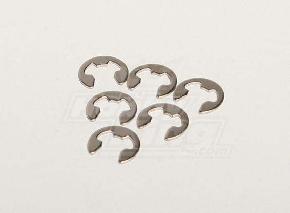 E Clip F5 (x6) - Turnigy Titan 1/5 et Thunder 1/5