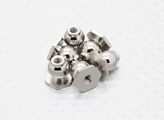 8mm Hexagon Boule End (6pcs) - A2038 & A3015