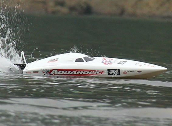 Quanum Aquaholic Brushless V profond Racing Bateau 740mm (ARR)