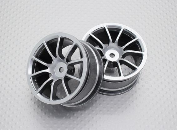 Échelle 1:10 Touring Haute Qualité / Drift Roues RC 12mm Car Hex (2pc) CR-12CS