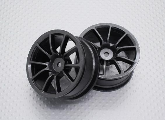 Échelle 1:10 Touring Haute Qualité / Drift Roues RC 12mm Car Hex (2pc) CR-12M