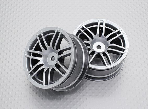 Échelle 1:10 Touring Haute Qualité / Drift Roues RC 12mm Car Hex (2pc) CR-RS4S