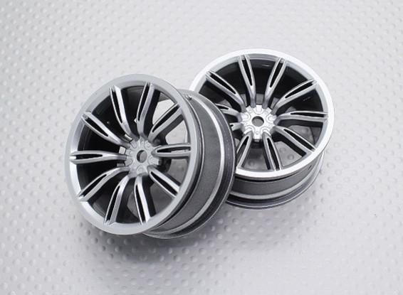 Échelle 1:10 Touring Haute Qualité / Drift Roues RC 12mm Car Hex (2pc) CR-VIRAGES